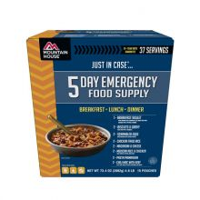 5 Day Emergency Food Supply (Breakfast, Lunch & Dinner Entrees For One Person)