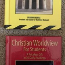 Christian Worldview For Students Volume 1 & 2