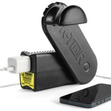 Universal Hand Crank Generator For iPhones, iPad, Flashlights & More